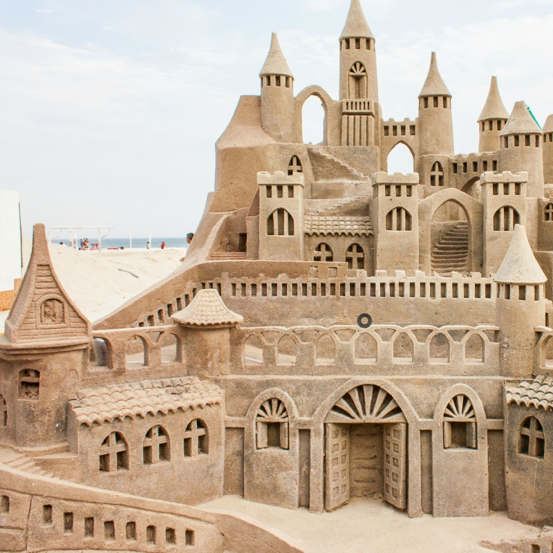 Sand Castle Contests in the US