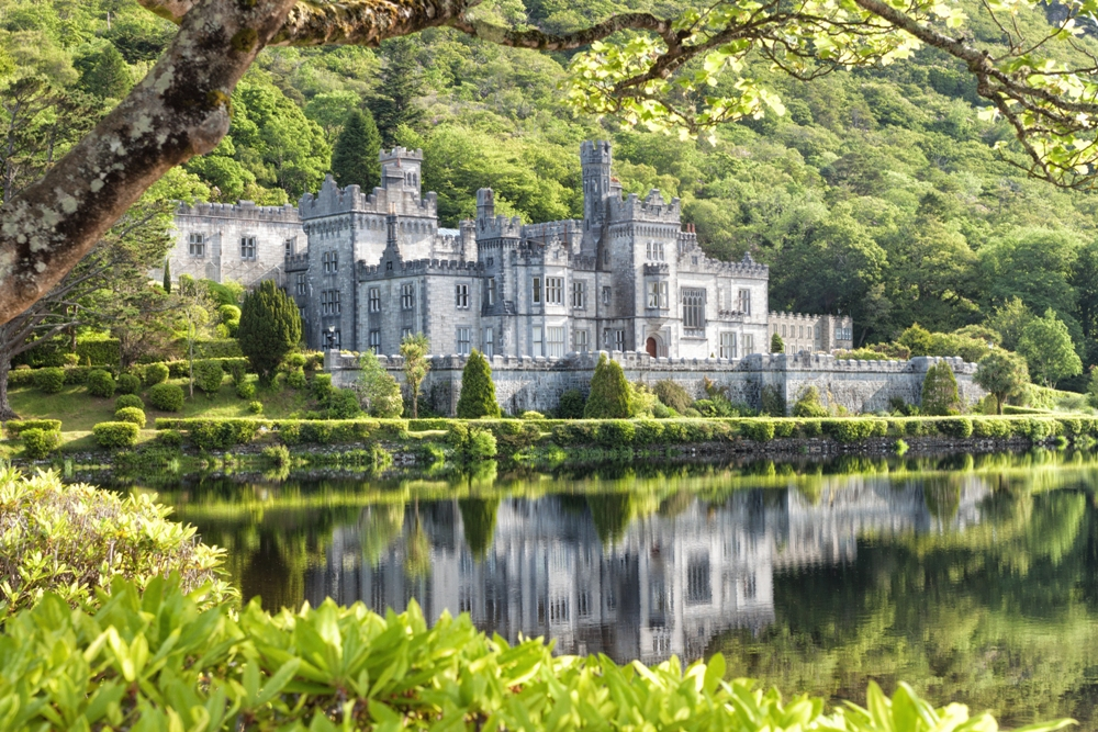 The Benedictine Nuns of Kylemore Abbey and Its Mythological Heroes