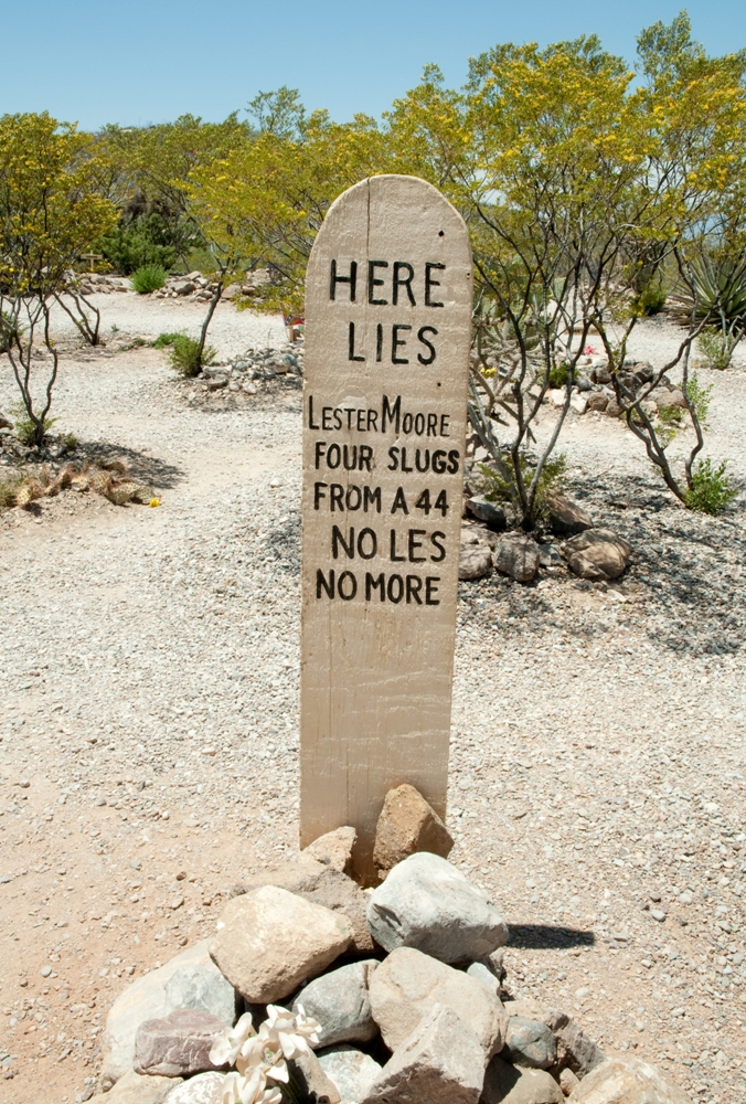 Boot Hill Cemetery – Tombstone, Arizona