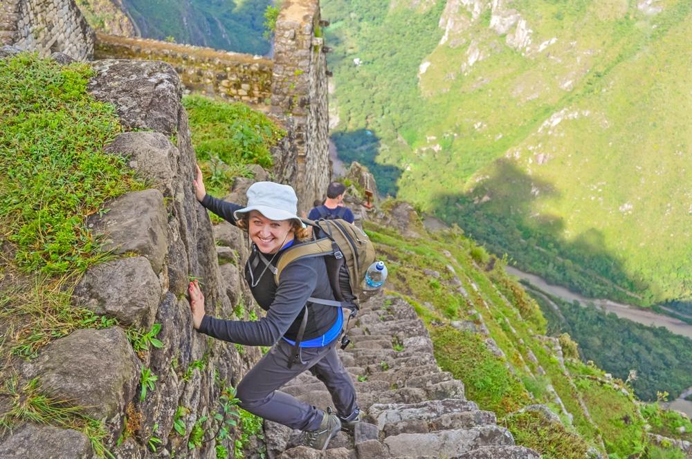 Climbing Magnificent Huayna Picchu, Peru