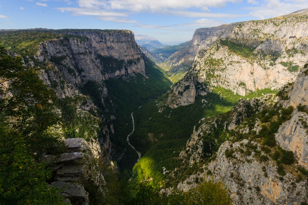 Hiking in Vikos Gorge, Greece