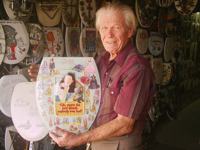 Introducing Barney Smith and His Toilet Museum
