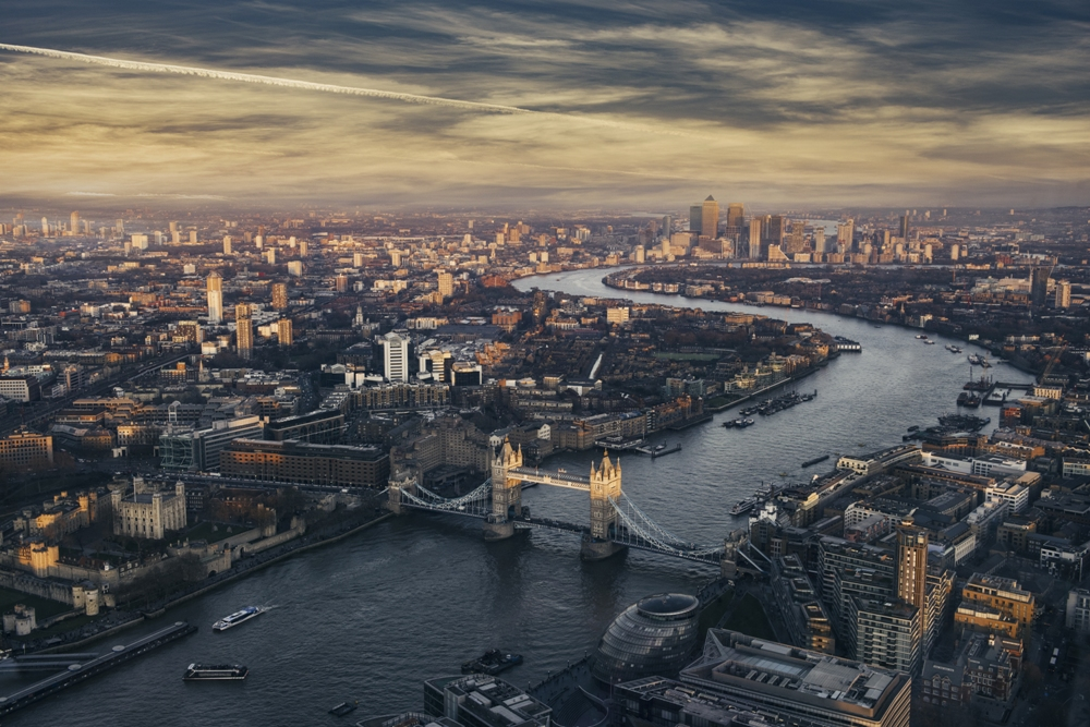 Best Views In London, England