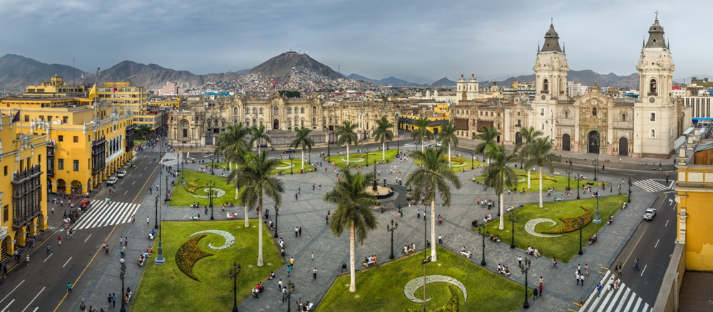 The Colorful City of Lima, Peru