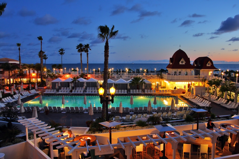 The Hotel del Coronado of San Diego