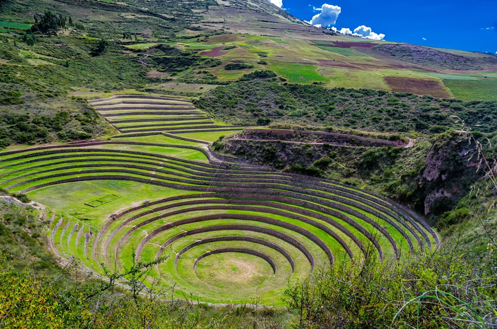 The Stunning Ruins at Moray, Peru