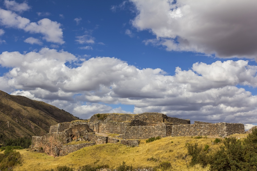 Visiting the Ruins of Puca Pucara, Peru